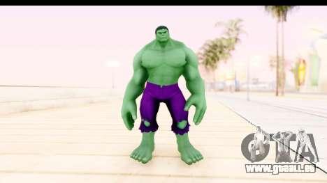 Marvel Heroes - Hulk pour GTA San Andreas deuxième écran