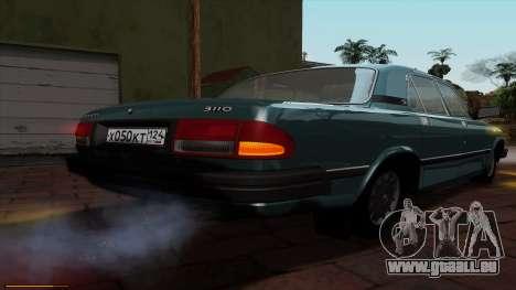 GAZ 3110 Volga für GTA San Andreas obere Ansicht