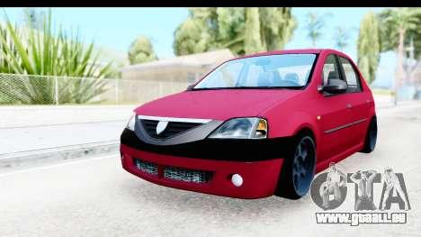 Dacia Logan Editie pour GTA San Andreas