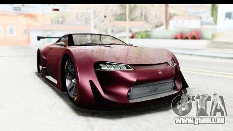 GTA 5 Emperor ETR1 SA Lights pour GTA San Andreas sur la vue arrière gauche