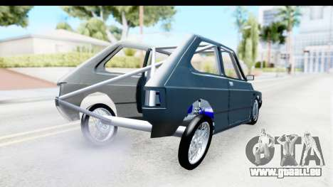 Fiat 147 pour GTA San Andreas sur la vue arrière gauche