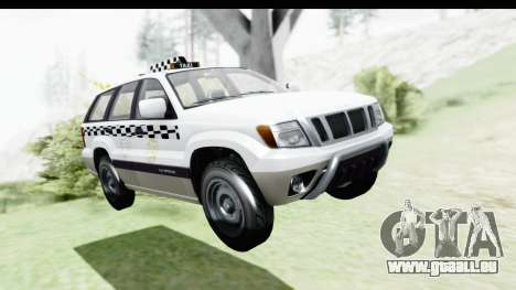 GTA 5 Canis Seminole Taxi Milspec für GTA San Andreas