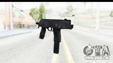 Brügger & Thomet MP9 pour GTA San Andreas deuxième écran