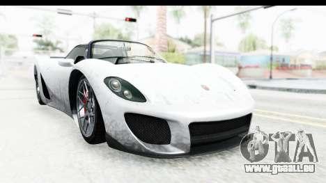 GTA 5 Pfister 811 SA Lights pour GTA San Andreas sur la vue arrière gauche