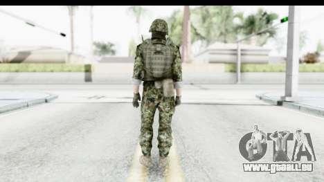 Global Warfare Balkan pour GTA San Andreas troisième écran
