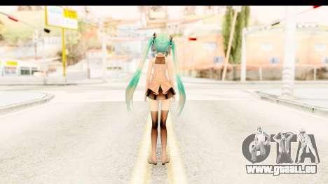 Miku Api Oufit v2.0 für GTA San Andreas dritten Screenshot