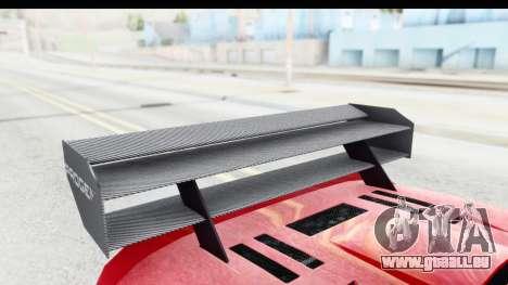 GTA 5 Progen Tyrus pour GTA San Andreas vue intérieure