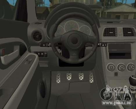 Subaru Impreza Armenian für GTA San Andreas Seitenansicht