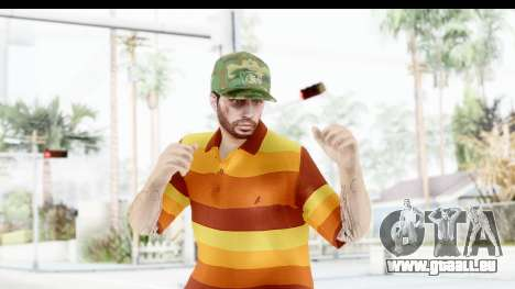 Skin Male Random 3 GTA Online pour GTA San Andreas