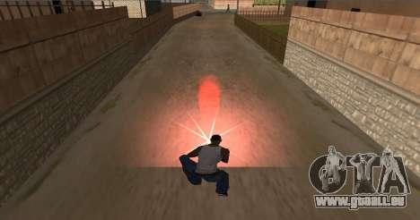 Installez feu pour GTA San Andreas