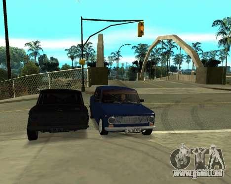 VAZ 2101 Arménie pour GTA San Andreas roue