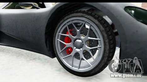 GTA 5 Pfister 811 IVF für GTA San Andreas Rückansicht