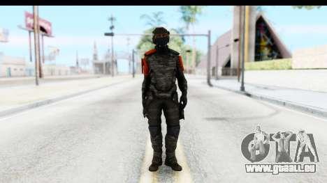 Homefront The Revolution - KPA v4 Camo pour GTA San Andreas deuxième écran
