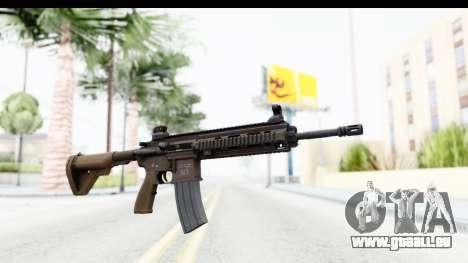 Heckler & Koch HK416 pour GTA San Andreas