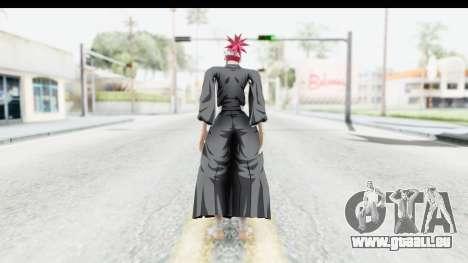 Bleach - Renji pour GTA San Andreas troisième écran