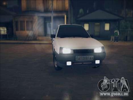 VAZ 21099 LT pour GTA San Andreas laissé vue