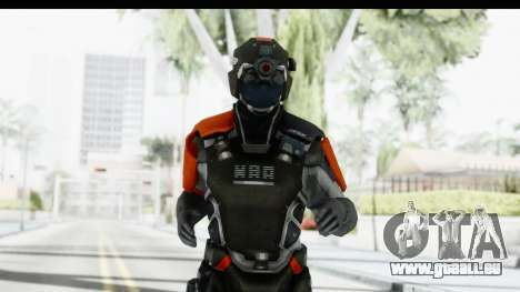 Homefront The Revolution - KPA v5 Captain für GTA San Andreas