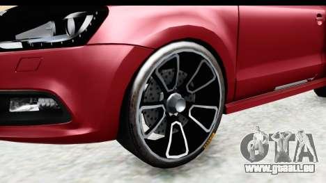 Volkswagen Polo pour GTA San Andreas vue arrière