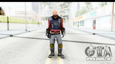 Deadshot (Will Smith) für GTA San Andreas zweiten Screenshot