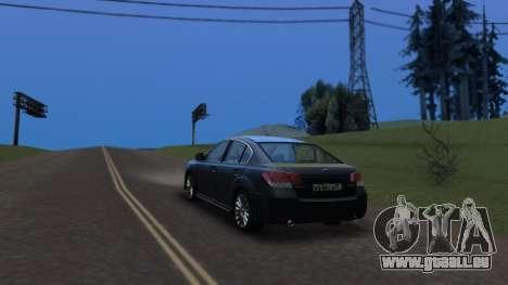 Subaru Legacy 2010 für GTA San Andreas linke Ansicht