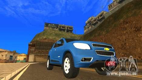 Chevrolet TrailBlazer 2015 LTZ für GTA San Andreas linke Ansicht