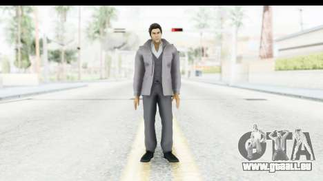 Yakuza 5 Kazuma Kiryu Fukuoka pour GTA San Andreas deuxième écran