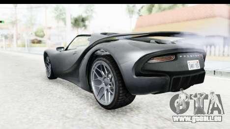 GTA 5 Pfister 811 IVF pour GTA San Andreas laissé vue
