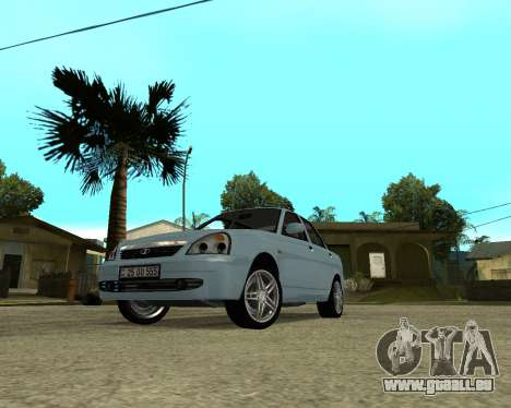 Lada Priora Arménie pour GTA San Andreas