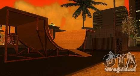 Neue Texturen von einem skate-Park und Krankenha für GTA San Andreas zweiten Screenshot