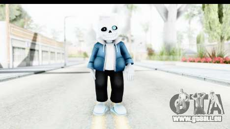 Sans The Skeleton Undertale für GTA San Andreas zweiten Screenshot