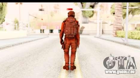 Homefront The Revolution - KPA v1 Red pour GTA San Andreas troisième écran