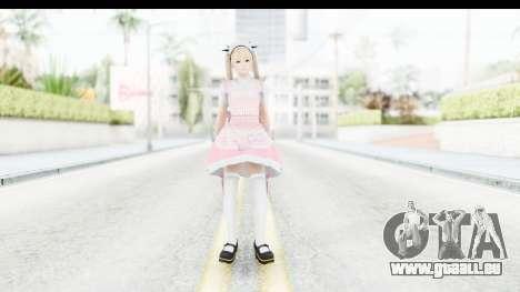 DoA 5: LR - Marie Rose Maid Remade pour GTA San Andreas deuxième écran