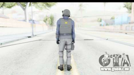 Quantum Break Monarch Operators für GTA San Andreas dritten Screenshot