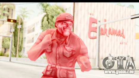 ArmyMen: Serge Heroes 2 - Man v3 für GTA San Andreas