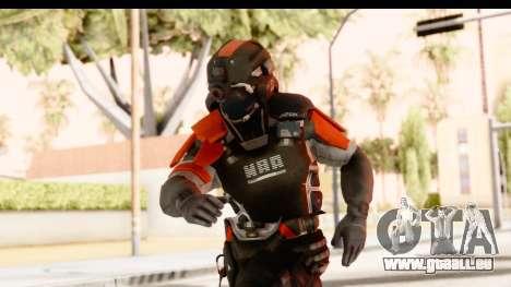 Homefront The Revolution - KPA v2 Captain pour GTA San Andreas