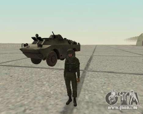 Pak-Kämpfer airborne für GTA San Andreas dritten Screenshot