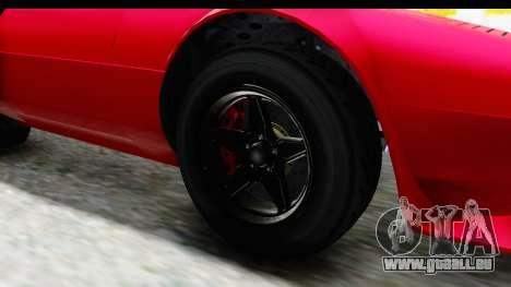 GTA 5 Lampadati Tropos IVF pour GTA San Andreas vue arrière