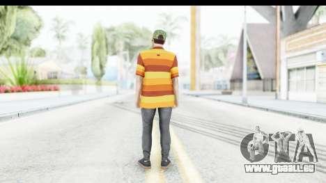 Skin Male Random 3 GTA Online für GTA San Andreas dritten Screenshot
