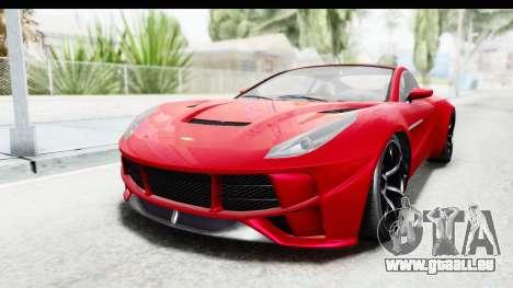 GTA 5 Dewbauchee Seven 70 IVF für GTA San Andreas