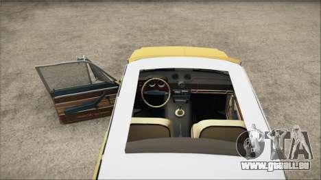 VAZ 2106 Summer pour GTA San Andreas sur la vue arrière gauche
