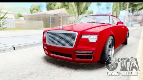 GTA 5 Enus Windsor Drop pour GTA San Andreas vue de droite
