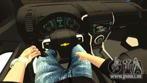 Chevrolet TrailBlazer 2015 LTZ pour GTA San Andreas vue de dessus