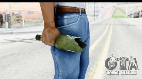 GTA 5 Broken Bottle pour GTA San Andreas troisième écran