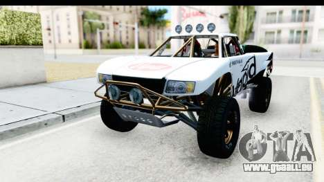 GTA 5 Trophy Truck IVF für GTA San Andreas Unteransicht