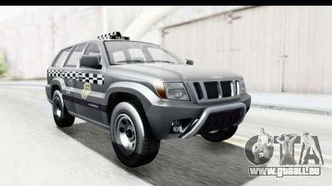 GTA 5 Canis Seminole Taxi für GTA San Andreas rechten Ansicht