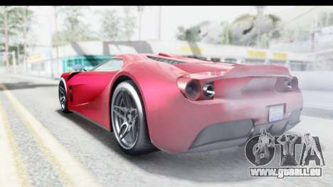 GTA 5 Vapid Bullet Face FMJ für GTA San Andreas linke Ansicht
