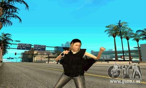Female SWAT-trainer für GTA San Andreas fünften Screenshot