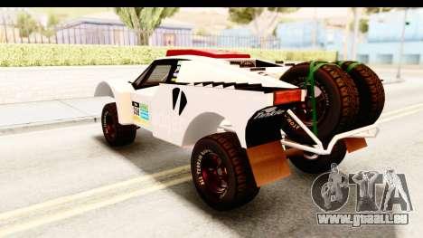 GTA 5 Desert Raid SA Lights PJ pour GTA San Andreas salon