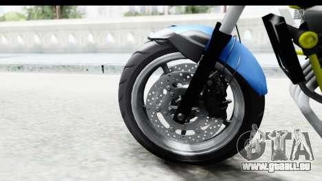 Yamaha Cage Sic pour GTA San Andreas vue de droite