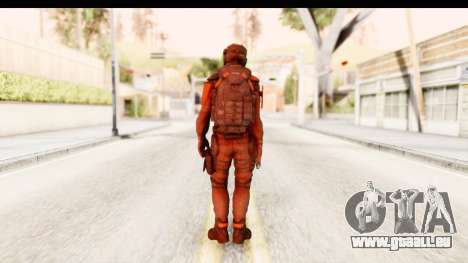 Homefront The Revolution - KPA v2 Red pour GTA San Andreas troisième écran